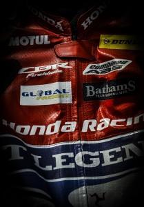 Michael Rutter's Honda TT Legends Leathers
